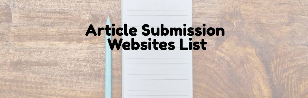 article-submission-websites